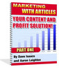 Thumbnail Marketing With Articles - Your Content And Profit Solution!