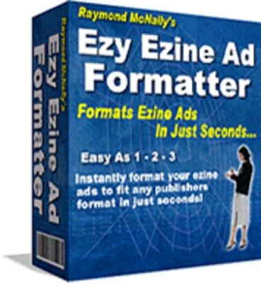 Product picture Ezy Ezine Ad Formatter -  your ezine ads to fit any publishe